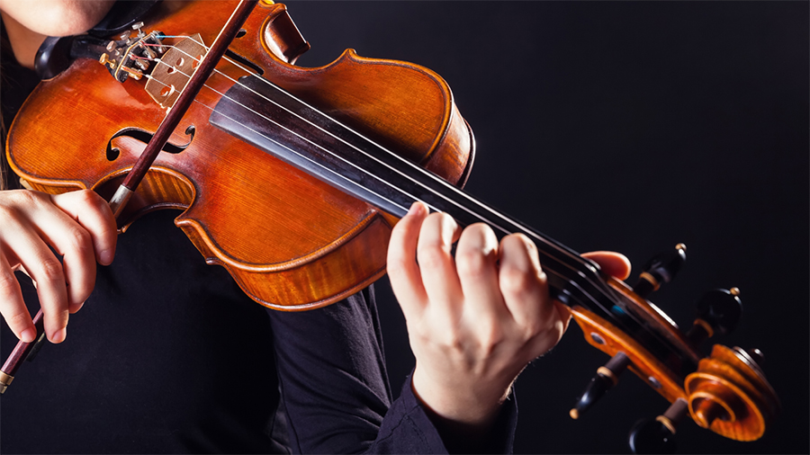 violin path of music
